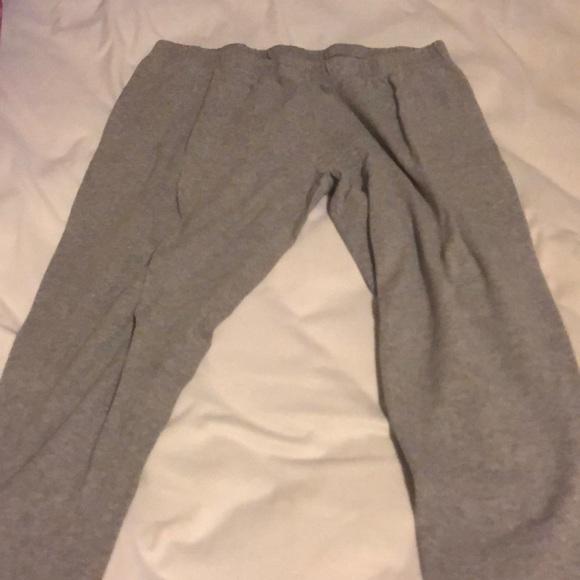 Pants - Grey sweatpants
